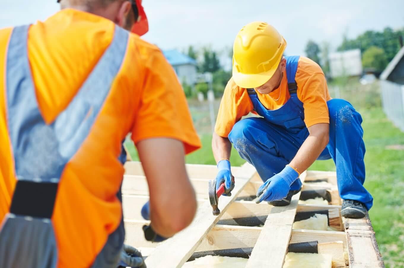 Travaux de construction de maison suivi par Gilles Moyse, constructeur en côte d'or