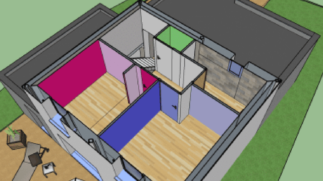 Construction de maison Toit Terrasse