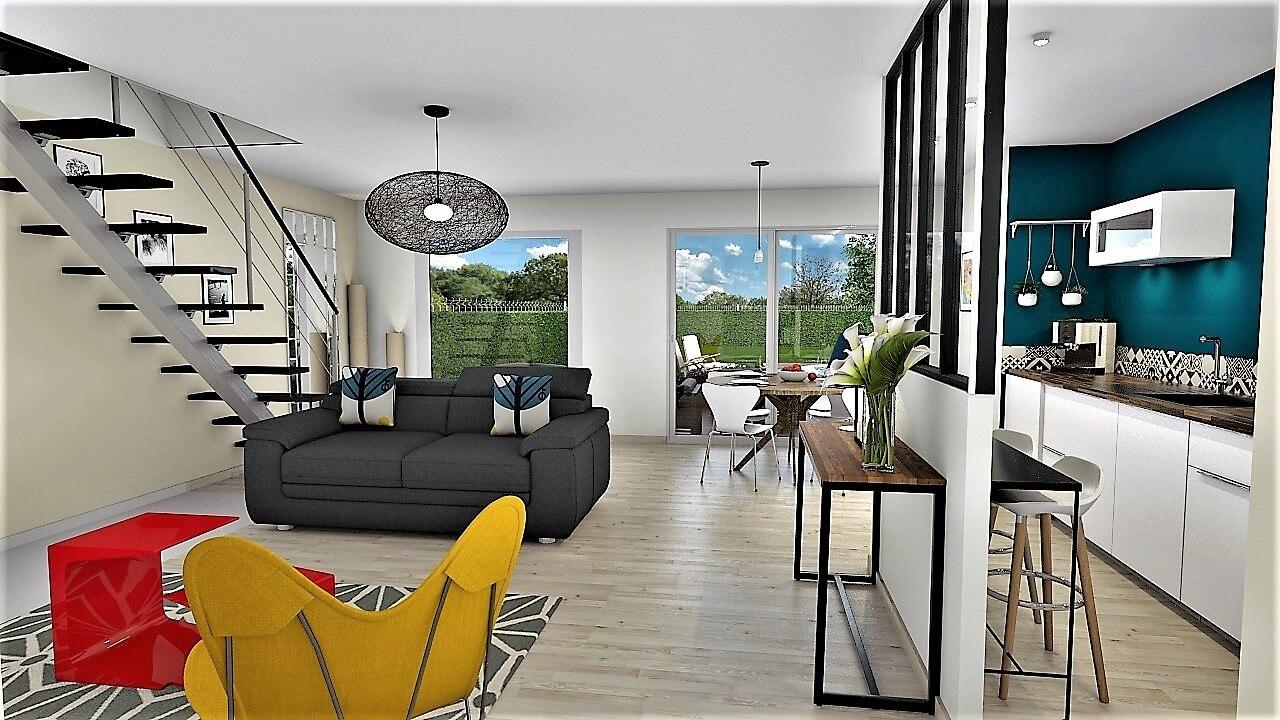 maison neuve magny sur tille esyom. Black Bedroom Furniture Sets. Home Design Ideas