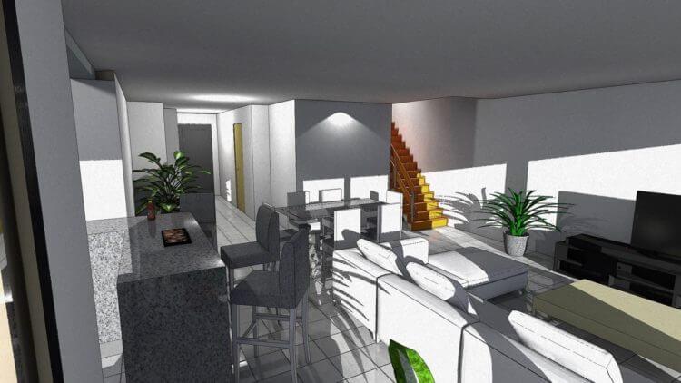 Maison contemporaine proche Dijon 21000