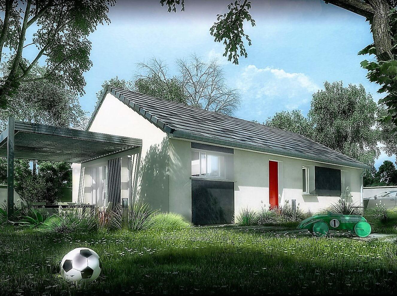 Maison sur plans à construire RT2012