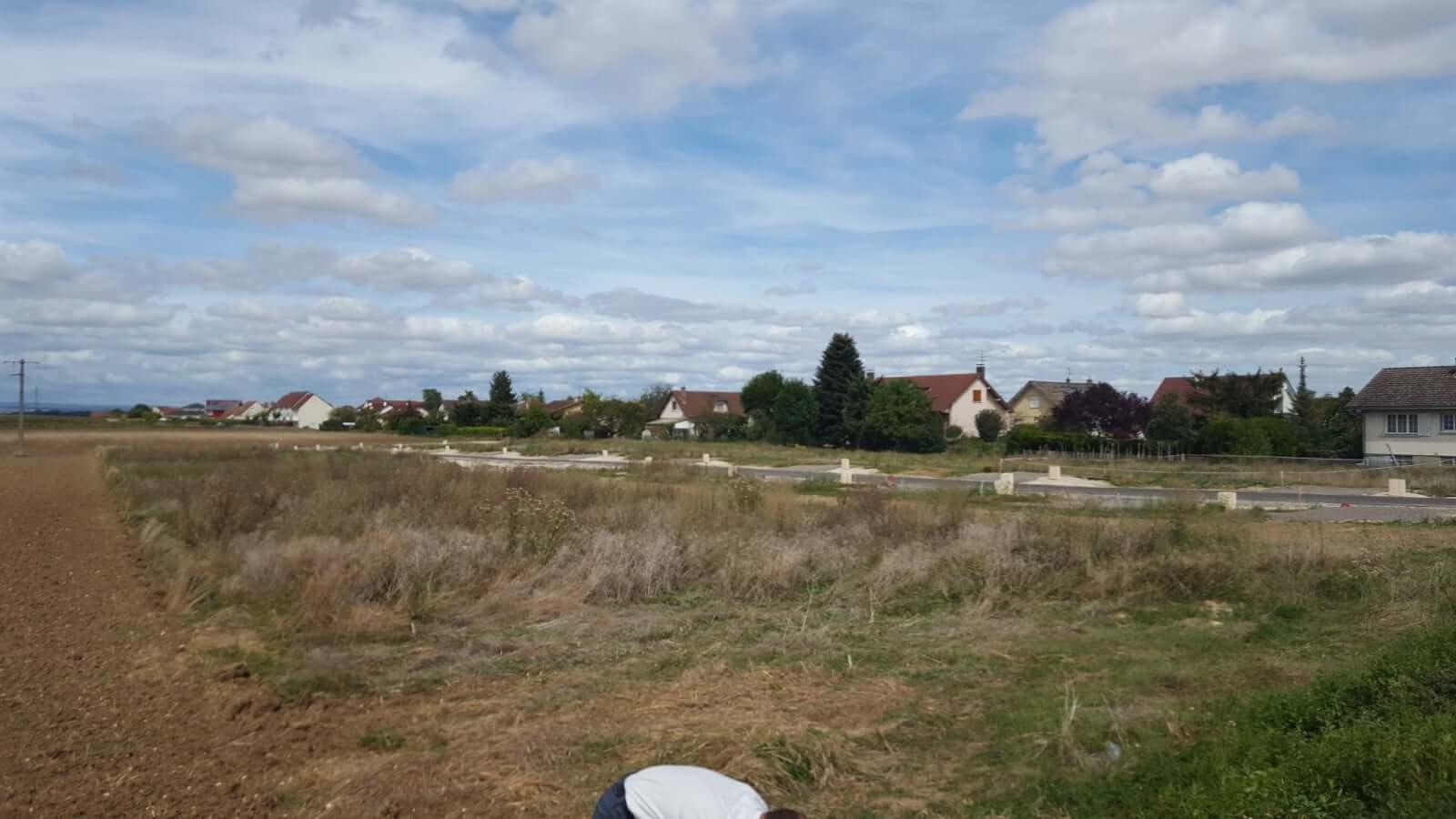 Terrain constructible proche Dijon