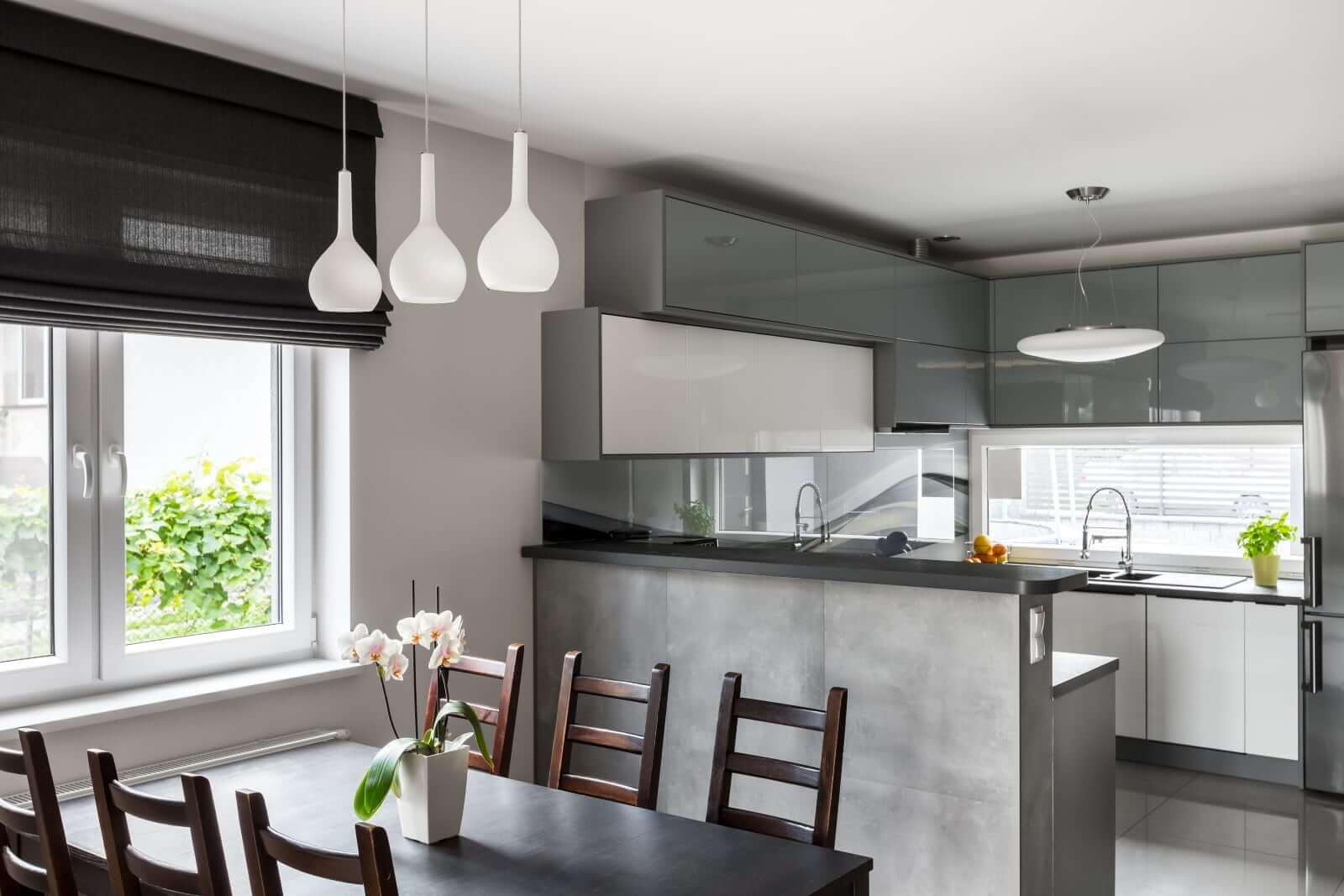 Best maison moderne cuisine ouverte images design trends for Decoration cuisine moderne