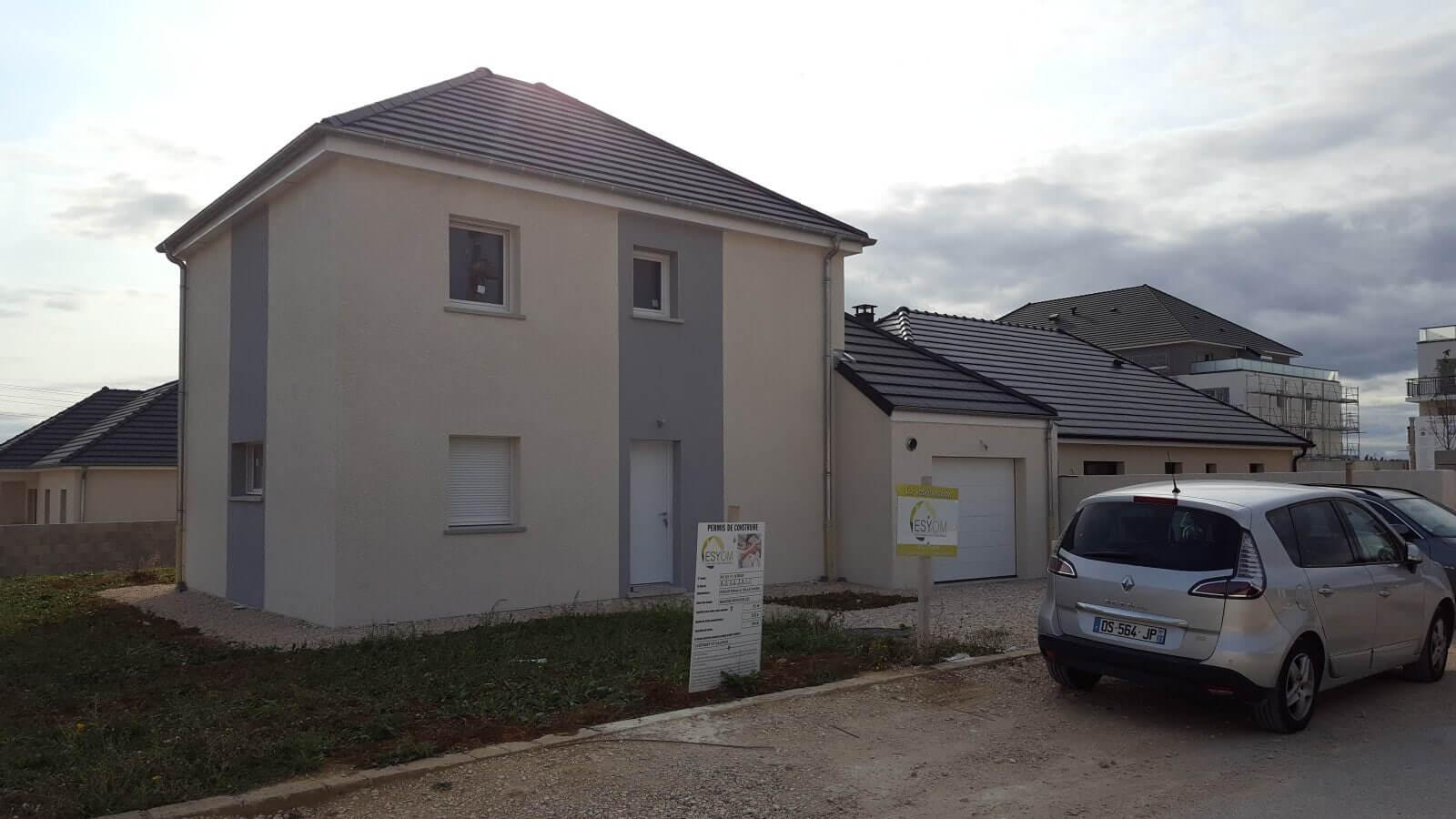 Nouvelle maison neuve réceptionnée à CHEVIGNY ST SAUVEUR