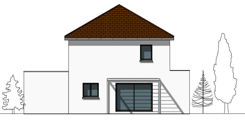 Maison contemporaine Libra