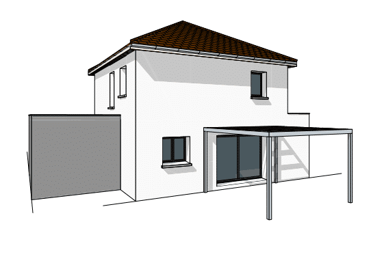 Construction maison moderne Dijon
