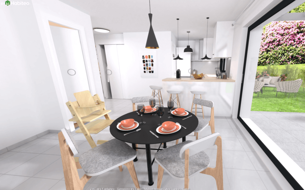 Cuisine de la maison moderne Libra