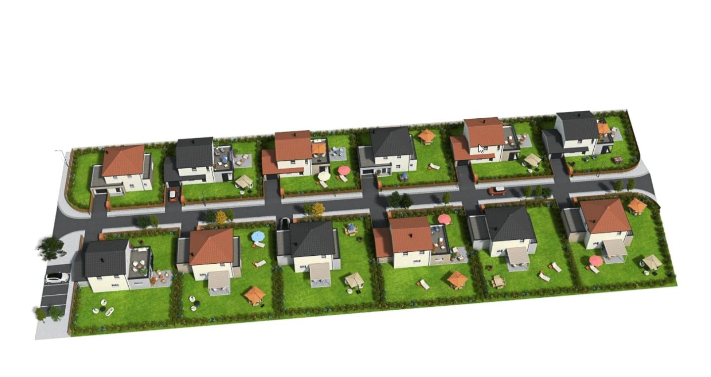 maison neuve à Sennecey-lès-Dijon