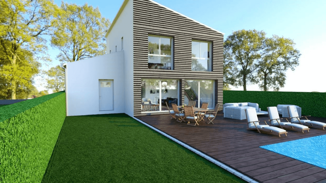 maison andromède ossature bois