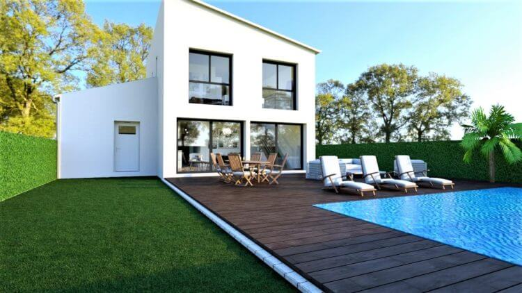 maison ossature bois à Corcelles-les-Monts proche Dijon