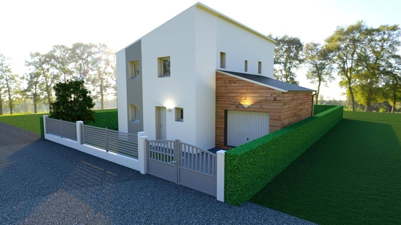 maison en bois proche dijon