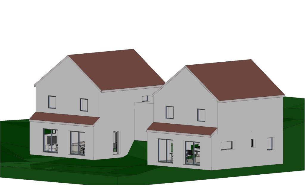 Maison + terrain à Corcelles-les-Monts