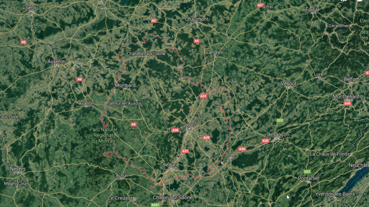 terrains constructibles en Côte d'Or