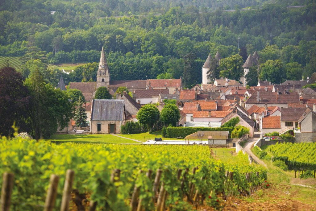 Savigny lès Beaune village
