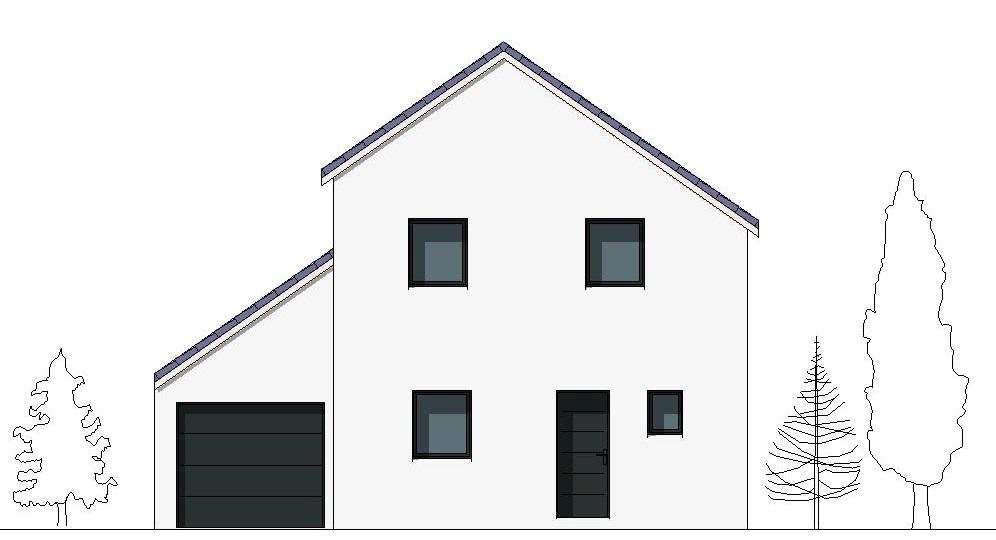 Maison contemporaine Sirius - façade 2