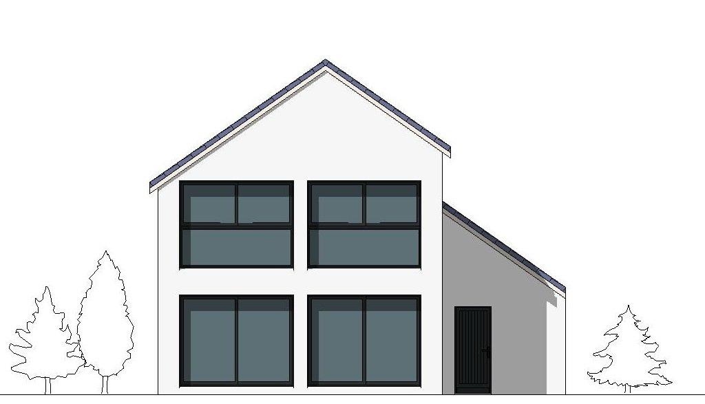 Maison contemporaine Sirius - façade 1