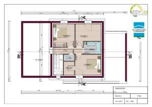 Plan Cassiopée - étage