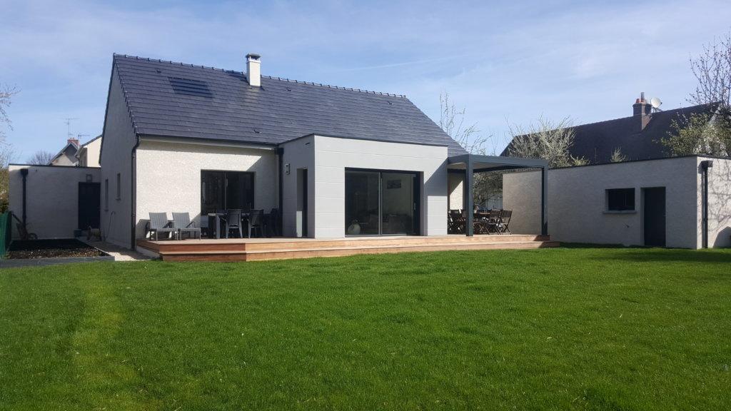 maison plain pied avec garage