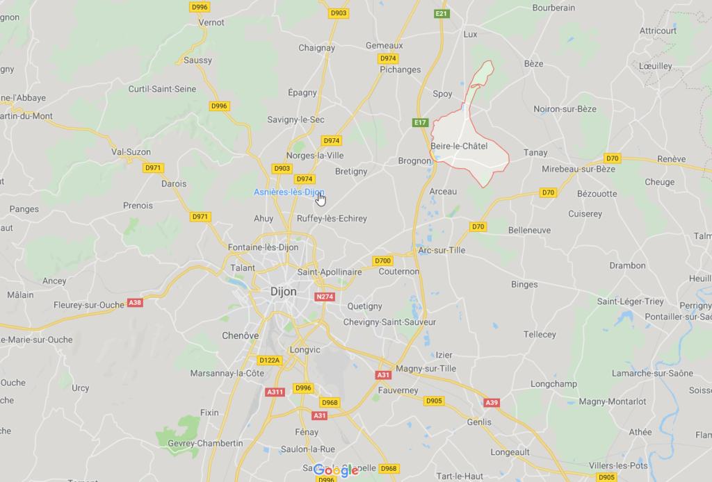 Beire-le-Châtel - GoogleMaps