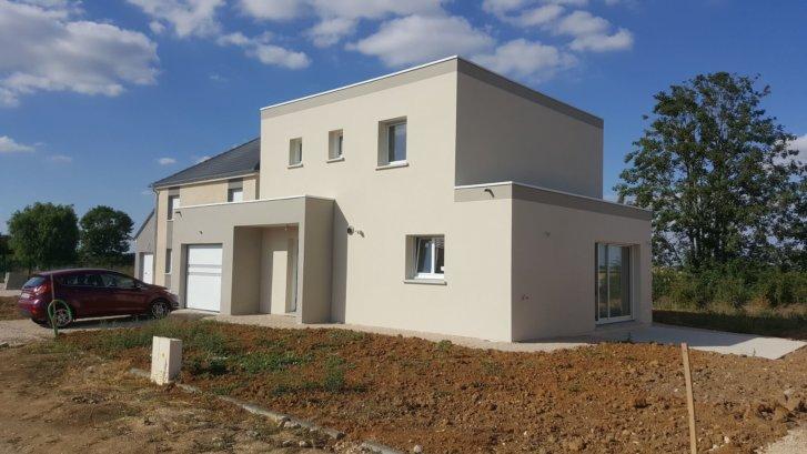 Maison moderne à Thorey-en-Plaine