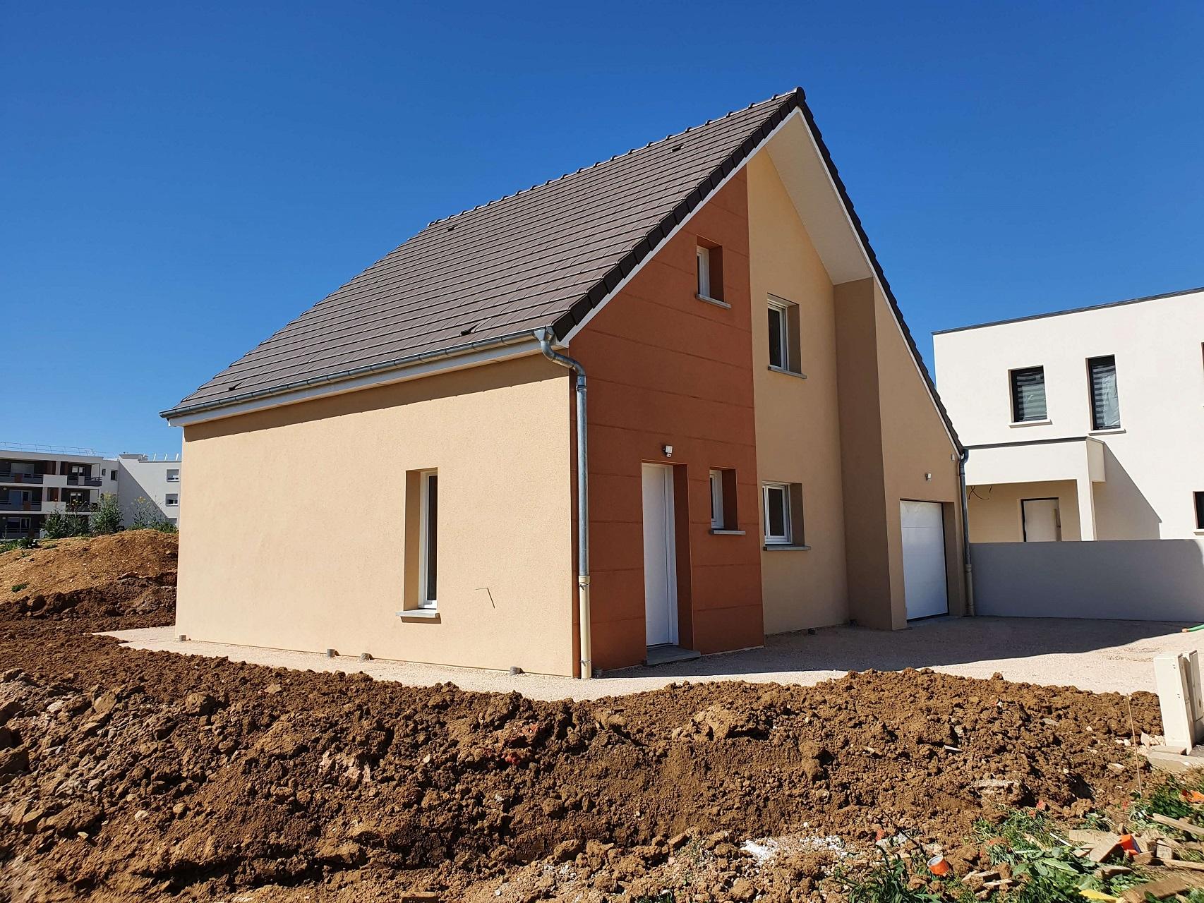 Maison réceptionnée à Perrigny lès Dijon