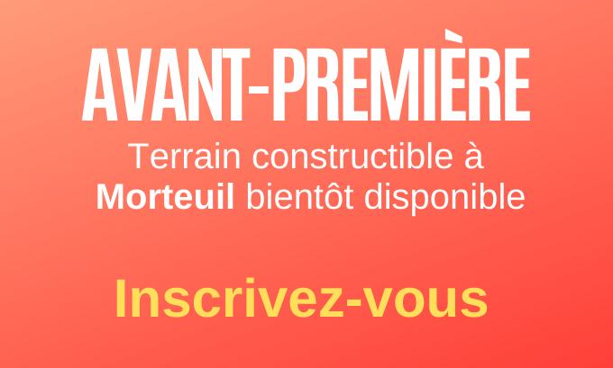 Terrain constructible à Morteuil bientôt disponible