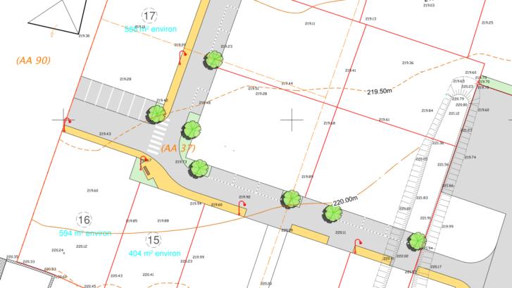 Terrains constructibles à vendre à FAUVERNEY
