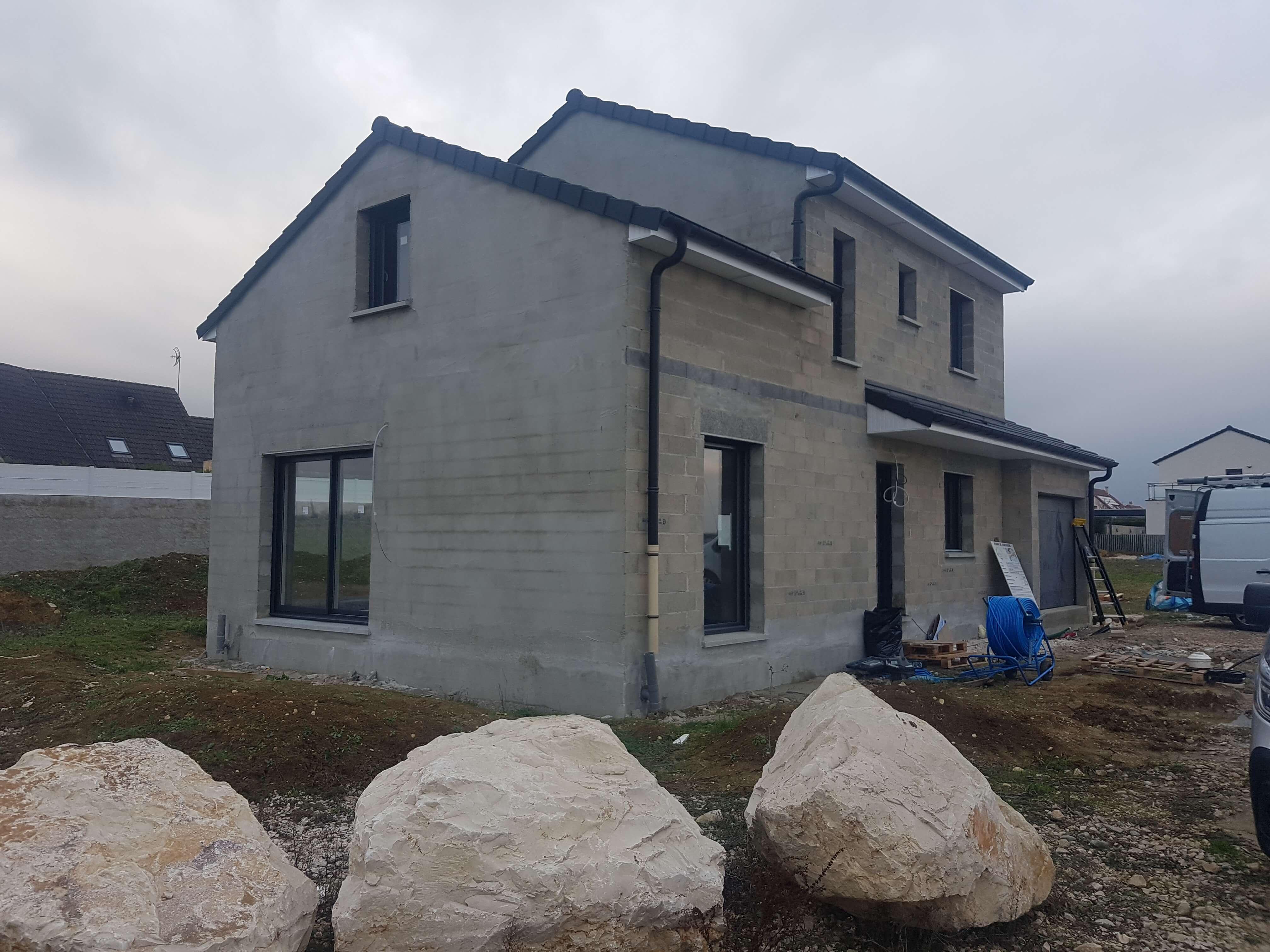Suivi chantier maison neuve Dijon
